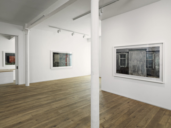 Works from the series Isles of Harris and Lewis 1990-2010 digital chromogenic prints, edition of 8 Installation view, Ingleby Gallery, April 2010